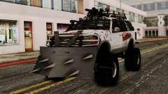 Ford Explorer Zombie Protection para GTA San Andreas