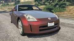 Nissan 350Z para GTA 5