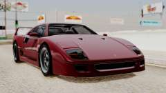 Ferrari F40 1987 without Up Lights IVF