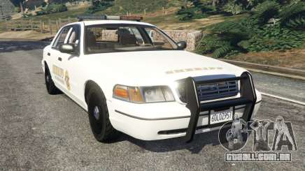 Ford Crown Victoria 1999 Sheriff v1.0 para GTA 5