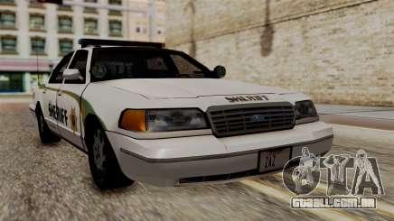 Ford Crown Victoria LP v2 Sheriff New para GTA San Andreas