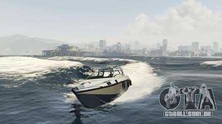 Melhorou barco Suntrap para GTA 5