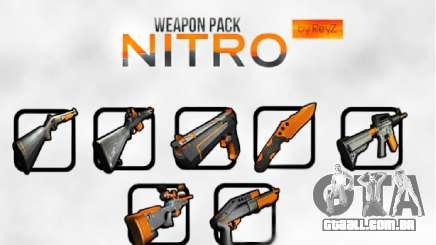 Nitro Weapon Pack para GTA San Andreas