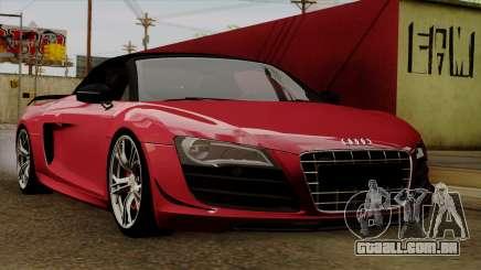 Audi R8 GT Spyder 2012 para GTA San Andreas