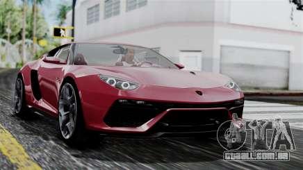 Lamborghini Asterion 2015 Concept para GTA San Andreas