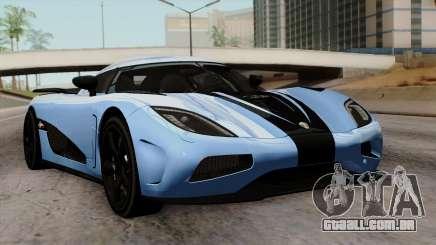 Koenigsegg Agera R 2014 Carbon Wheels para GTA San Andreas