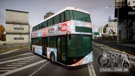 Wrightbus New Routemaster para GTA 4