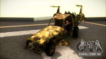 Camo Espaço De Encaixe para GTA San Andreas