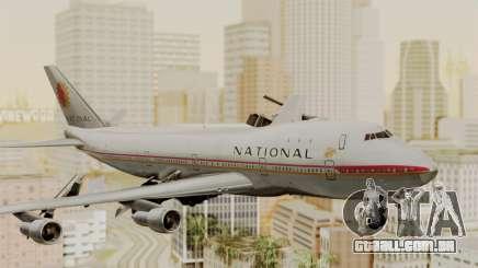 Boeing 747-100 National Airlines para GTA San Andreas
