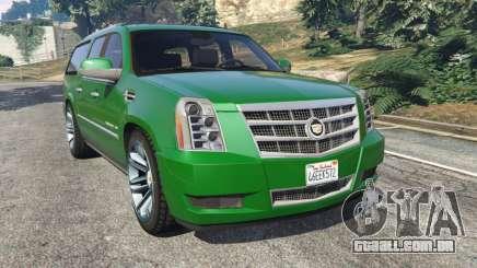 Cadillac Escalade ESV 2012 para GTA 5