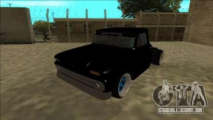 Chevrolet C10 Drift Monster Energy para GTA San Andreas