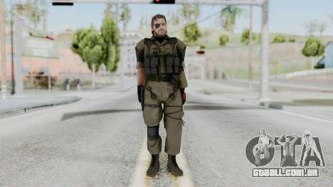 MGSV Phantom Pain Snake (Olive Drab Version) para GTA San Andreas segunda tela