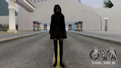 Final Fantasy Type 0 - Rem Tokomiya para GTA San Andreas segunda tela