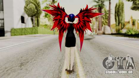Touka Kirishima (Tokyo Ghoul) v2 para GTA San Andreas terceira tela