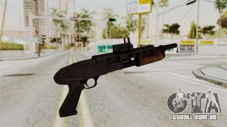 Shotgun from RE6 para GTA San Andreas segunda tela