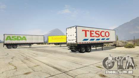 GTA 5 Real Brand Truck Trailers terceiro screenshot