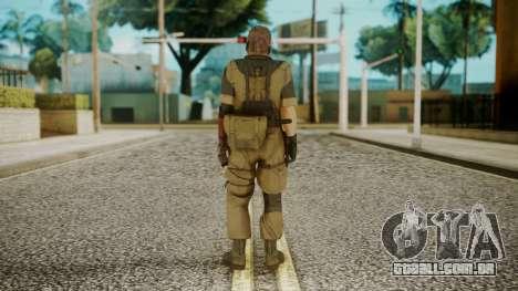Venom Snake Olive Drab para GTA San Andreas terceira tela