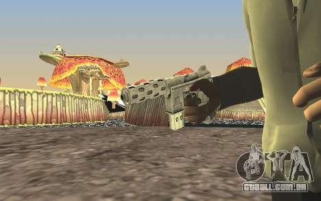 GTA 5 Tec-9 para GTA San Andreas por diante tela