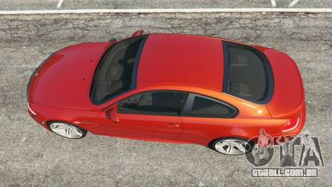 GTA 5 BMW M6 (E63) Tunable v1.0 voltar vista