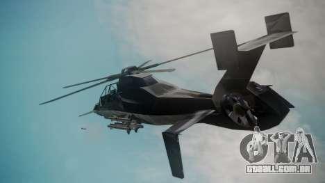 VAH-318 para GTA San Andreas traseira esquerda vista