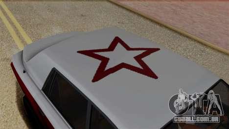 Morningstar Justice (Super Diamond) from SR3 para GTA San Andreas vista traseira