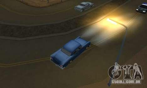 Realistic Lights para GTA San Andreas por diante tela
