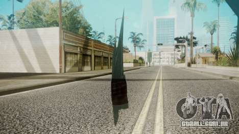 Glass Shard para GTA San Andreas segunda tela