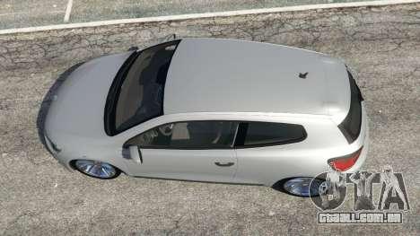 GTA 5 Volkswagen Scirocco [Beta] voltar vista