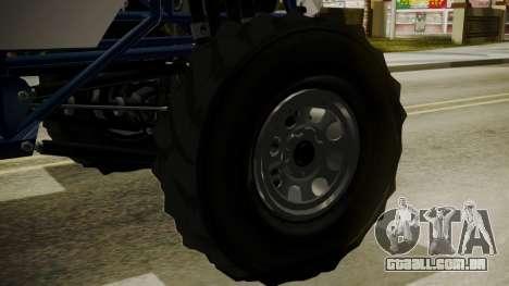 GTA 5 Vapid The Liberator para GTA San Andreas traseira esquerda vista