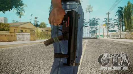 MP5 by EmiKiller para GTA San Andreas terceira tela