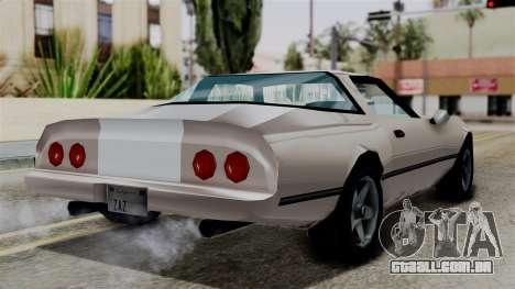 Phoenix from Vice City Stories para GTA San Andreas esquerda vista