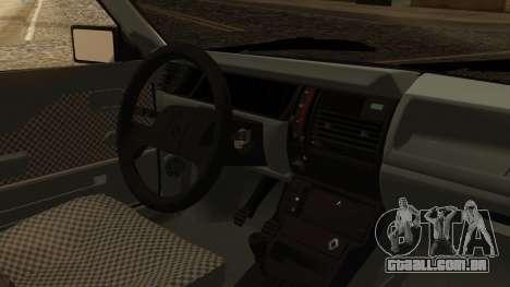 Renault 11 Perfil Bajo para GTA San Andreas vista direita
