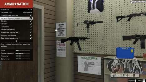 GTA 5 MW3 MP5 segundo screenshot