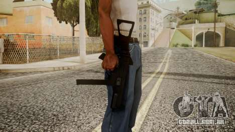 MP5 by catfromnesbox para GTA San Andreas terceira tela