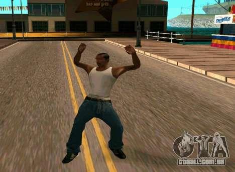 50 Animations v1.0 para GTA San Andreas terceira tela