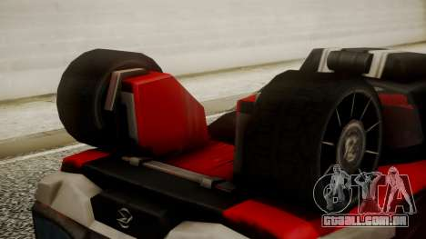 Tridoron-3000 para GTA San Andreas vista direita