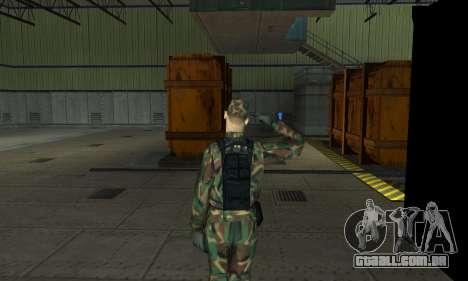 Militar saudação para GTA San Andreas