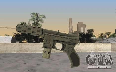GTA 5 Tec-9 para GTA San Andreas segunda tela