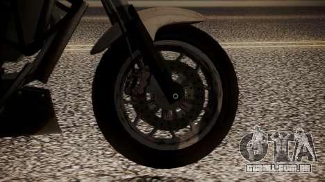 GTA 5 Dinka Thrust para GTA San Andreas traseira esquerda vista