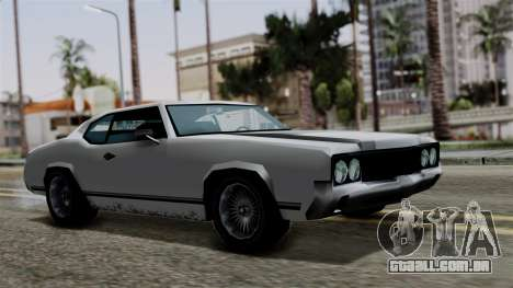 Sabre Turbo from Vice City Stories para GTA San Andreas