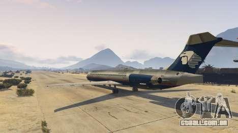 GTA 5 McDonnell Douglas MD-80 segundo screenshot