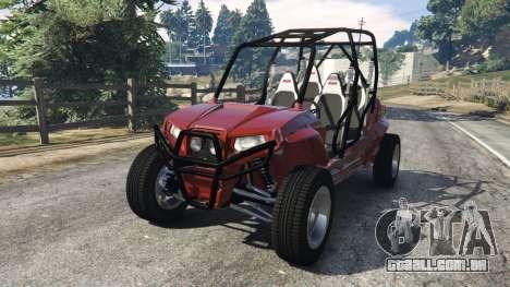 Polaris RZR 4 v1.15 para GTA 5