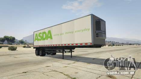 Real Brand Truck Trailers para GTA 5