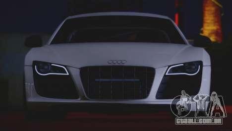 Audi R8 GT 2012 Sport Tuning V 1.0 para GTA San Andreas vista interior