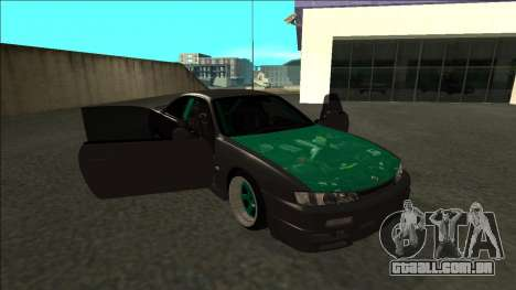 Nissan 200sx Drift para vista lateral GTA San Andreas