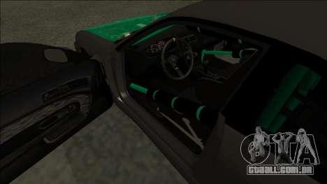 Nissan 200sx Drift para GTA San Andreas vista direita
