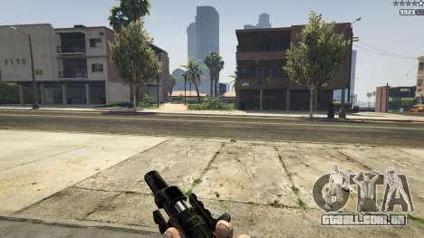 MW3 MP5 para GTA 5