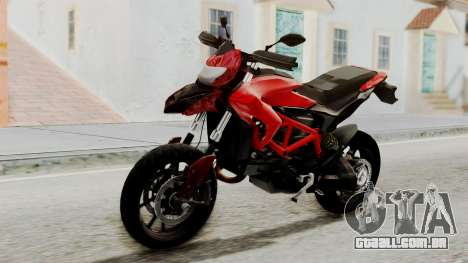 Ducati Hypermotard para GTA San Andreas