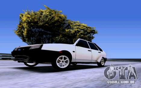 VAZ 2109 Turbo para GTA San Andreas vista direita