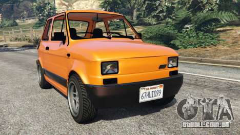Fiat 126p v1.0 para GTA 5